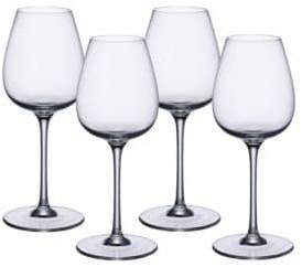Villeroy & Boch Intricate and Delicate Red Wine Glasses-Set of 4