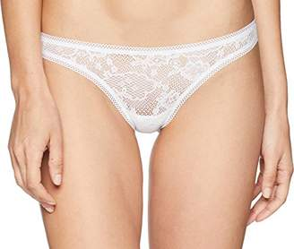 OnGossamer Women's Racy Lace Hip G Thong Panty