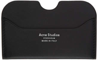 Acne Studios Black Elmas Card Holder