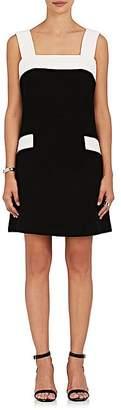 Lisa Perry WOMEN'S COLORBLOCKED WOOL SHEATH DRESS