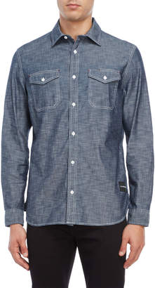 Calvin Klein Jeans Chambray Utility Shirt