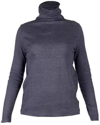Majestic Filatures Cotton Cashmere Turtleneck T-shirt
