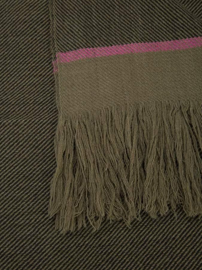 Denis Colomb striped scarf