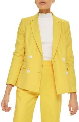 Topshop Milly Double Breasted Suit Jacket