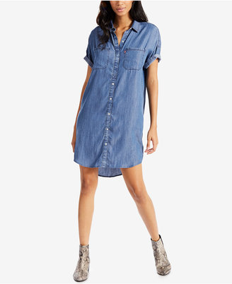 Levi's® Holly Chambray Shirt Dress $64.50 thestylecure.com