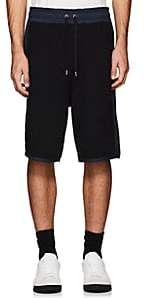 Public School Men's Kofi Colorblocked Cotton Shorts-Black