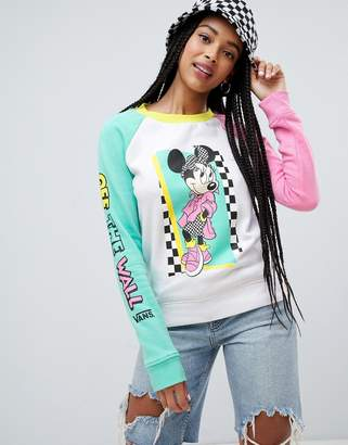 Vans X Disney hyper minnie sweatshirt