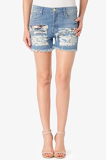 Hudson Jeans Libertine Boyfriend Short- Anti-Establishment