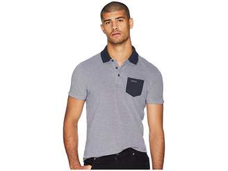 Scotch & Soda Polo in Two-Tone Pique Quality w/ Contrast Chest Pocket