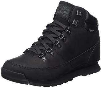 The North Face Men's Back-to-Berkeley Redux Leather High Rise Hiking Boots, Kx8, 13 (48 EU)