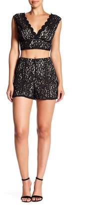 Do & Be Do + Be Lace Mini Shorts