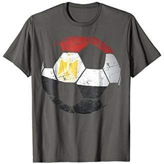 Egypt Soccer Ball Flag Jersey Shirt - Egyptian Football Gift