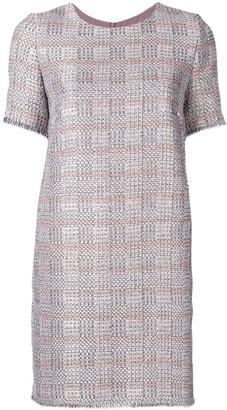 Emporio Armani frayed edge dress