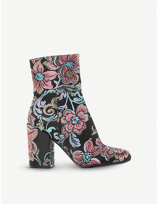 Steve Madden Goldie brocade ankle boots