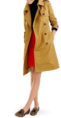 J.Crew City Trench Coat $158 thestylecure.com