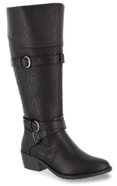 Easy Street Shoes Kelsa Wide Calf Riding Boot