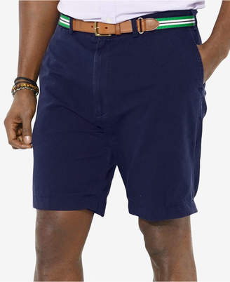"""Polo Ralph Lauren Men's Big and Tall 9"""" Classic-Fit Flat-Front Suffield Shorts"""