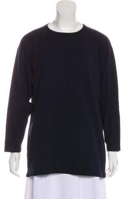 Amina Rubinacci Crew Neck Long Sleeve Top