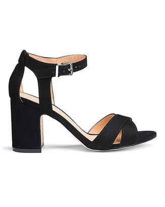 Silentnight Helen Mid Block Heel Extra Wide Fit 6b7e5299457bd