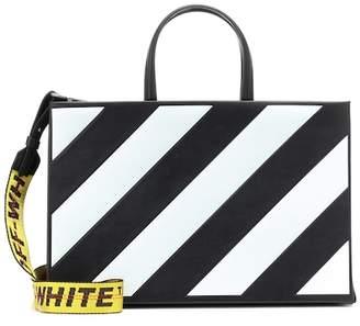 Off-White Diag Box leather tote