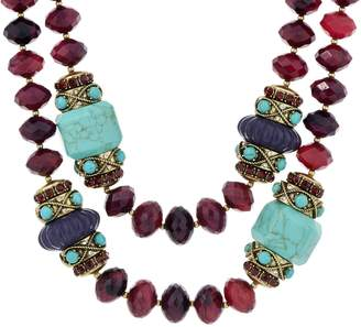 """Joan Rivers Classics Collection Joan Rivers """"The Favorite"""" 19"""" Beaded Necklace w/ 3"""" Extender"""