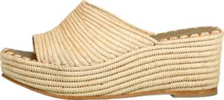 Carrie Forbes Woven Wedge Slide