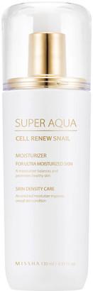 Missha Super Aqua Cell Renew Snail Essential Moisturiser 130ml