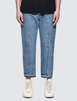 SASQUATCHfabrix. Twist Taperd Denim Pants