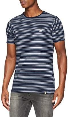 Pretty Green Men's Argenta Striped T-Shirt,Small