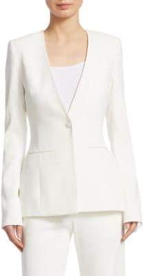 Jonathan Simkhai Tailored Long-Line Blazer Jacket