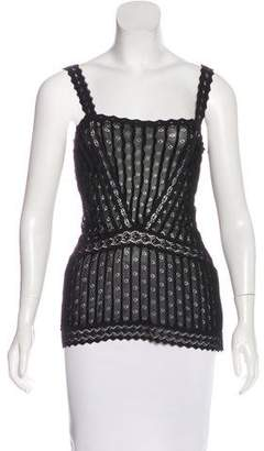 Christian Dior Sleeveless Knit Top w/ Tags
