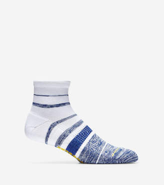 Cole Haan ZERØGRAND Melange Stripe Low Cut Socks