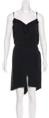 L'Agence Silk Sleeveless Dress