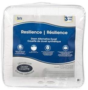 Serta Resilience Ultimate Loft Duvet 300-Thread Count Cotton Duvet