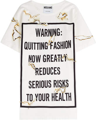 Moschino Printed T-Shirt Dress