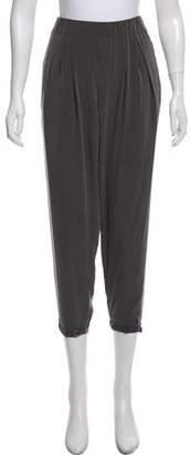 Helmut Lang High-Rise Cropped Pants
