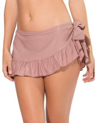 Smart & Sexy Women's Ruffle Skirted Bikini Bottom