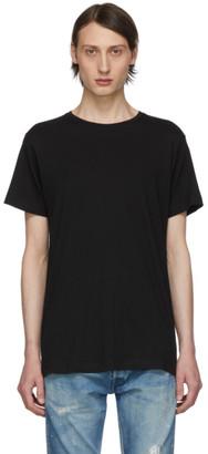 John Elliott Black Classic Crew T-Shirt