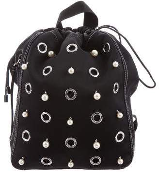 3.1 Phillip Lim Embellished Drawstring Backpack