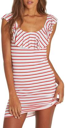 Billabong No Frills Stripe Minidress