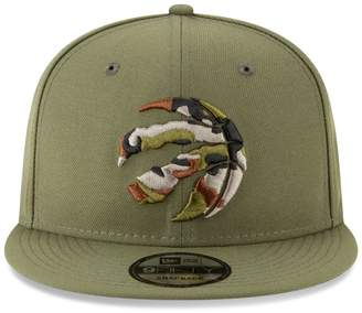 New Era Toronto Raptors NBA Camo-Trimmed Cap