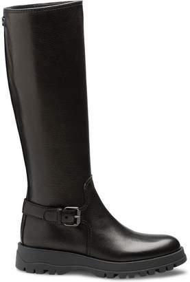 Prada distressed boots