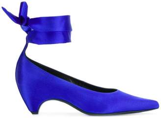 Stella McCartney wrap ankle pumps