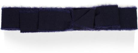 Valentino Roma Brushed grosgrain belt