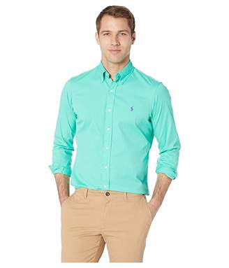 Polo Ralph Lauren Long Sleeve Classic Fit Garment Dyed Chino