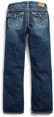True Religion Ricky Straight Leg Jean (Toddler Boys & Little Boys) $119 thestylecure.com