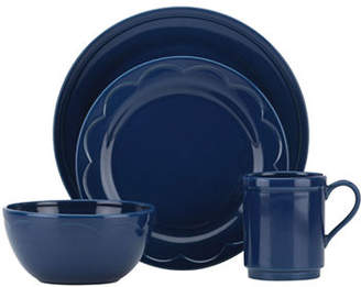 Kate Spade 12-Piece Scallop Dinnerware Set