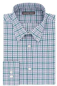 Geoffrey Beene Plaid Dress Shirt