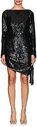 Osman Women's Aselise Sequined Long-Sleeve Dress