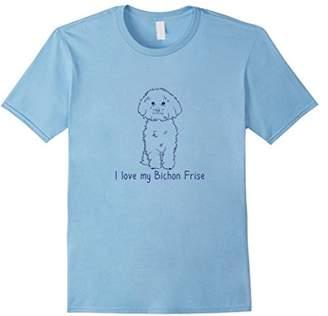 Breed I Love My Bichon Frise   Dog Owner Love T-shirt